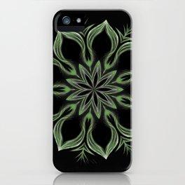 Alien Mandala Swirl iPhone Case