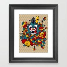 Trojan Rabbit Framed Art Print