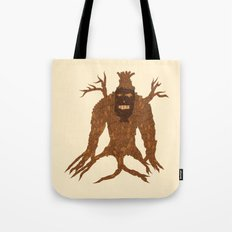 Tree Stitch Monster Tote Bag