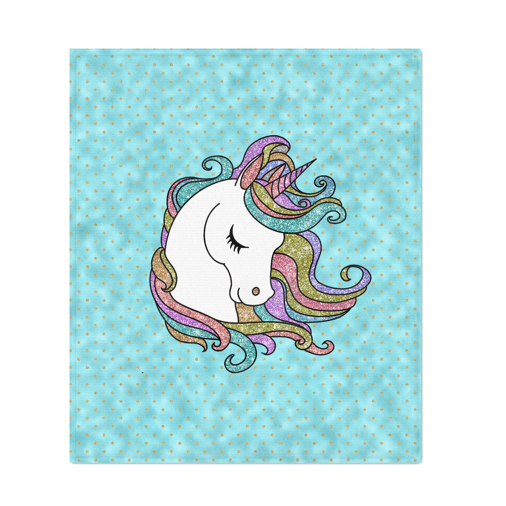 Turquoise_Blue_Faux_Glitter_Unicorn_Rug_Throw_Blanket_by_histrionicole