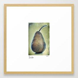 The Blue Bosc Framed Art Print