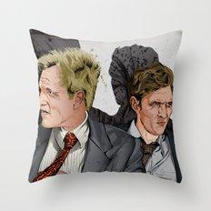 True Detective Throw Pillow