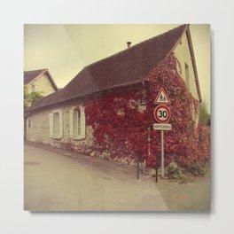 House - Giverny, France Metal Print