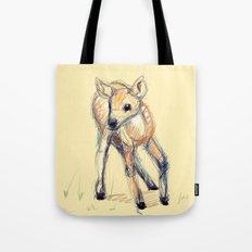 Wobbly Deer Tote Bag