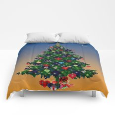 Make A Holiday Wish Comforters