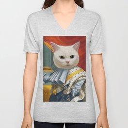Cat King Unisex V-Neck