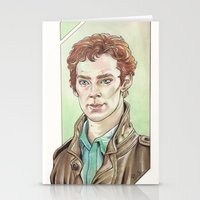 cumberbatch Stationery Cards featuring Benedict Cumberbatch by Jess P.
