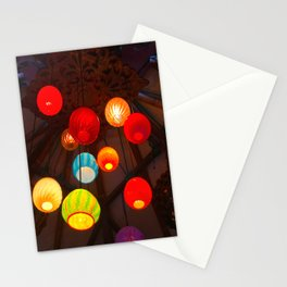 Lights at Mama's Fish House, Maui Stationery Cards