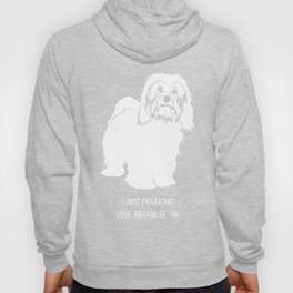 Havanese-tshirt,-just-freaking-love-my-Havanese Hoody