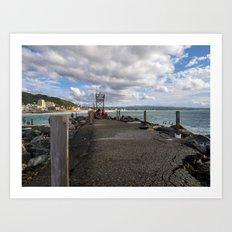 Aguadilla coast 6 Art Print