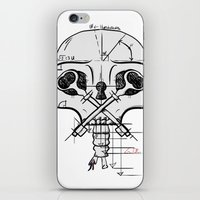 architect iPhone & iPod Skins featuring The Architect by Gwen Parker