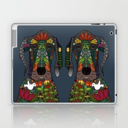 Great Dane love midnight Laptop & iPad Skin