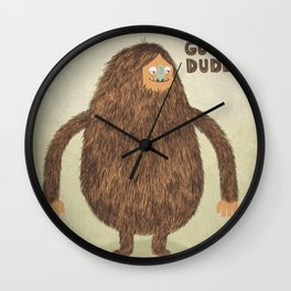 Sounds Good Dude Wall Clock