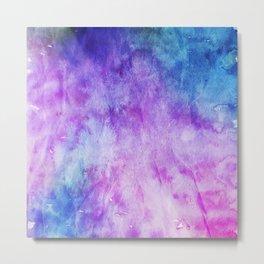 Crumpled Paper Textures Colorful P 804 Metal Print