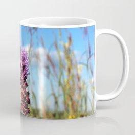 Prarie Liatris and coneflowers Coffee Mug