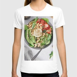 Healthy lunch bowl T-shirt