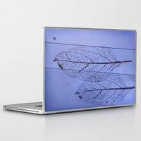 leaf Laptop & iPad Skins featuring leaf by Bunny Noir