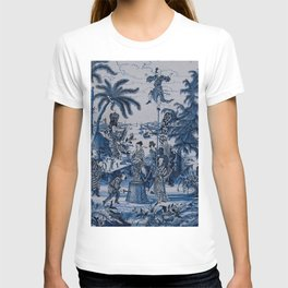 17th Century Delftware Chinoiserie T-shirt