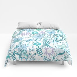 Bright xmas pattern Comforters