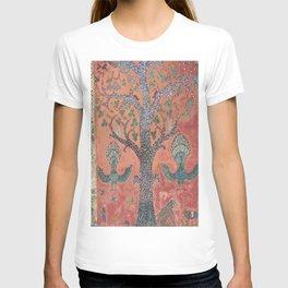 Tree of Life Mosaic Buddist temple, Laos T-shirt