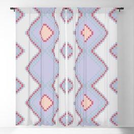 Pixel pattern Blackout Curtain