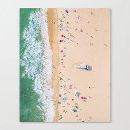 Beach Aerial Canvas Print