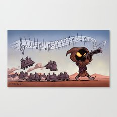 The Pied Piper of Tatooine Canvas Print