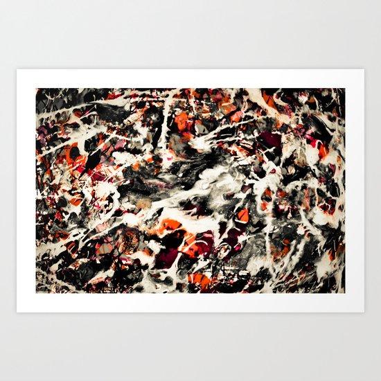 Pollock had a wife. I dunno, did he? Art Print