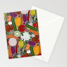 the good stuff taupe Stationery Cards