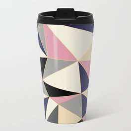 Geometric Metal Travel Mug