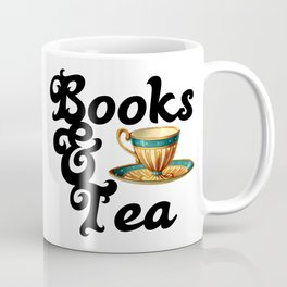 Books and Tea Coffee Mug