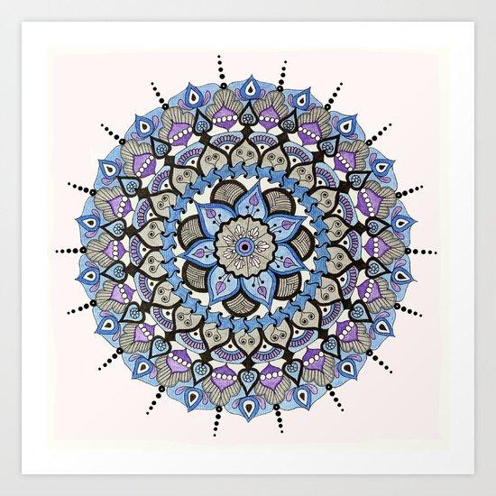 Mandala 03 Art Print