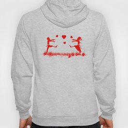 Zombies in Love Red Hoody