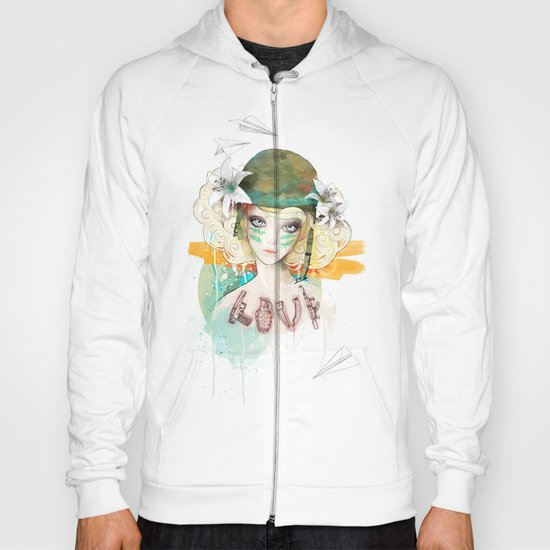 War girl Hoody
