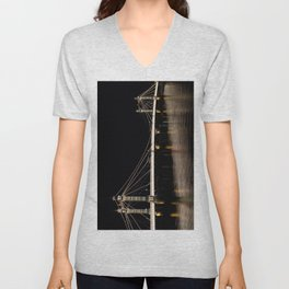 Albert Bridge London  Unisex V-Neck