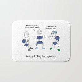 Hokey Pokey Anonymous Bath Mat