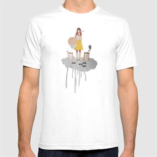 ON / ... | Collage T-shirt