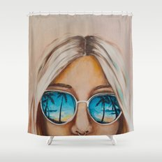 Pacific Beach Shower Curtain