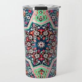 V16 Special Colored Traditional Moroccan Design. Travel Mug