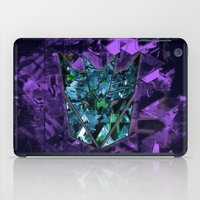 transformers iPad Cases featuring Decepticons Abstractness - Transformers by DesignLawrence