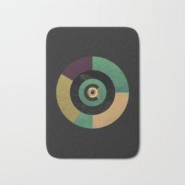 Circle Fibonacci.1 Bath Mat