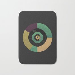 Circle Fibonacci.1 Bath Mat