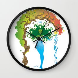 Gaea Wall Clock