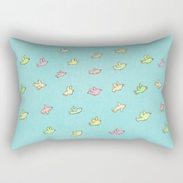 Flying Birdies Rectangular Pillow