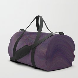 Purple daze 27 Duffle Bag