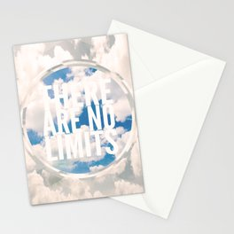 There Are No Limits Stationery Cards