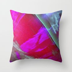 Signs in the Sky Collection III- Streaks and lights Throw Pillow