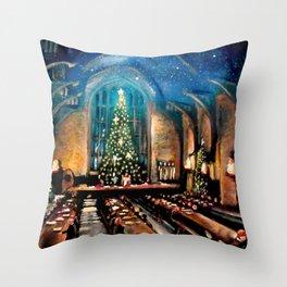 Magic at Christmas Throw Pillow