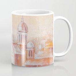 Two Rabbits in Rome Coffee Mug