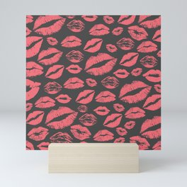Lips 10 Mini Art Print